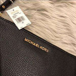 MICHAEL Michael Kors Bags - Michael Kors Jet Set Black Clutch